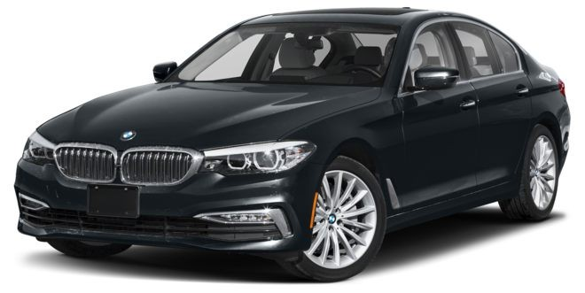 BMW 5 Series màu đen