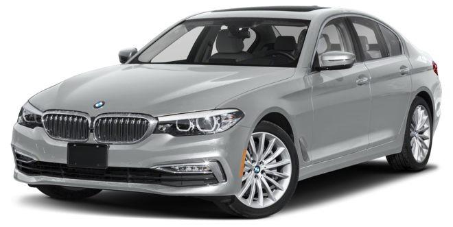 BMW 5 Series màu bạc