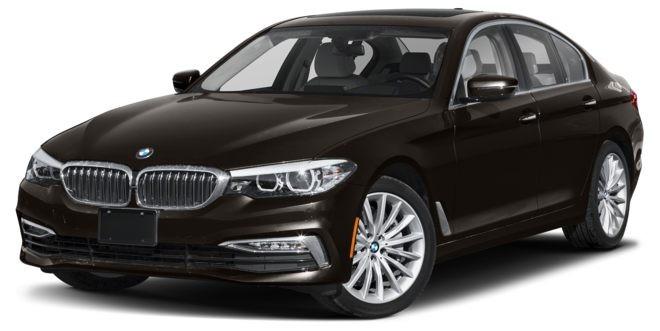 BMW 5 Series màu nâu