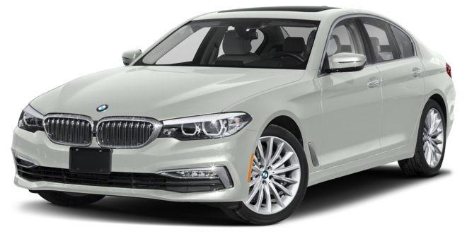 BMW 5 Series màu trắng