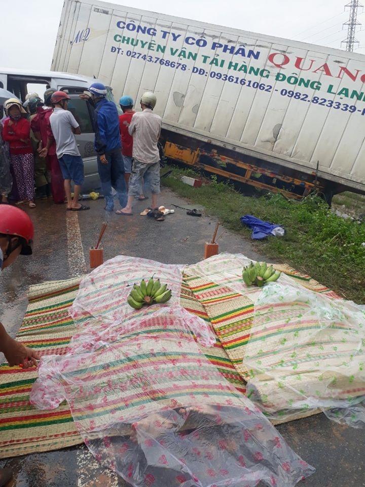 Vụ tai nạn khiến 2 người tử vong tại chỗ