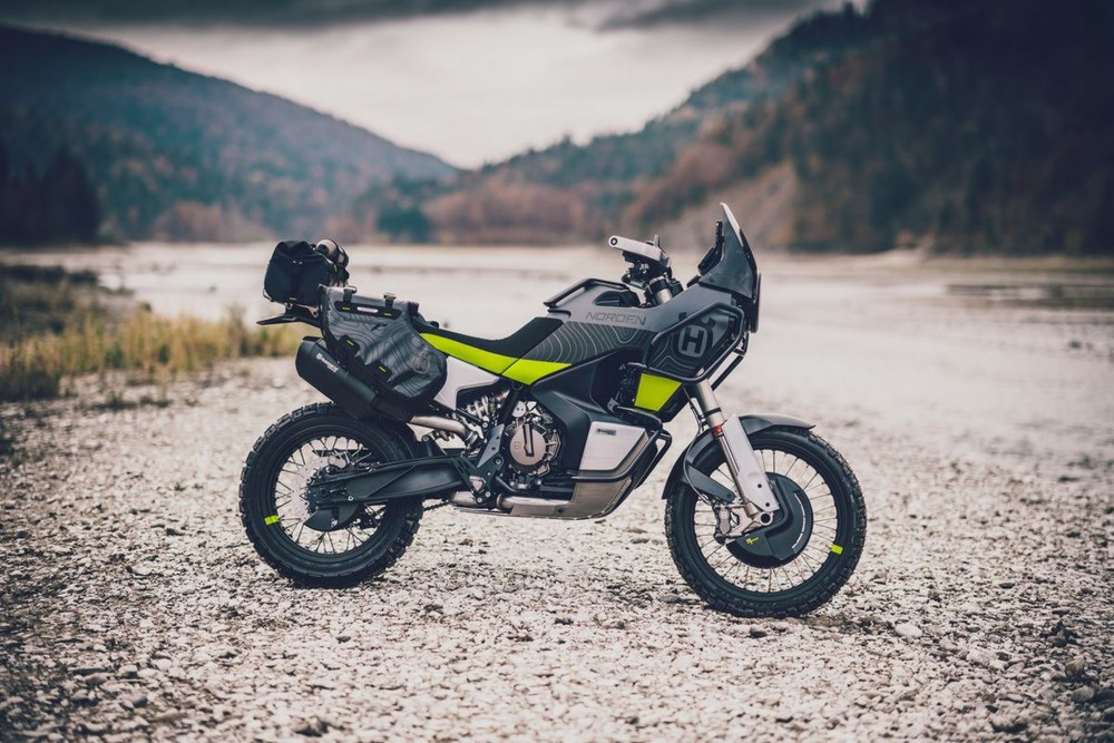 Norden 901 Concept mang thiết kế Adventure Touring