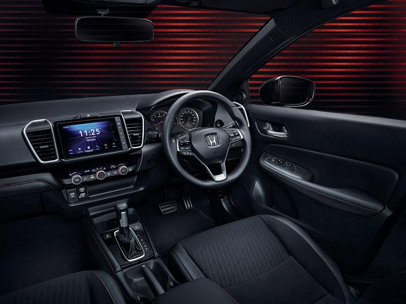 Nội thất của Honda City RS 2020