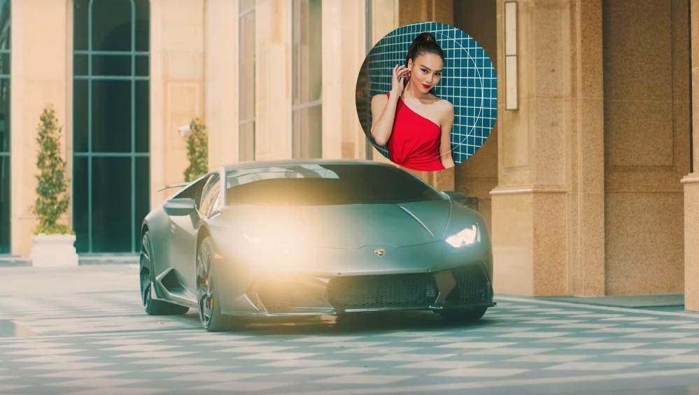 Ninh Dương Lan Ngọc mang siêu xe Lamborghini Huracan độ khủng nhất Việt Nam vào trong MV ca nhạc đầu tay