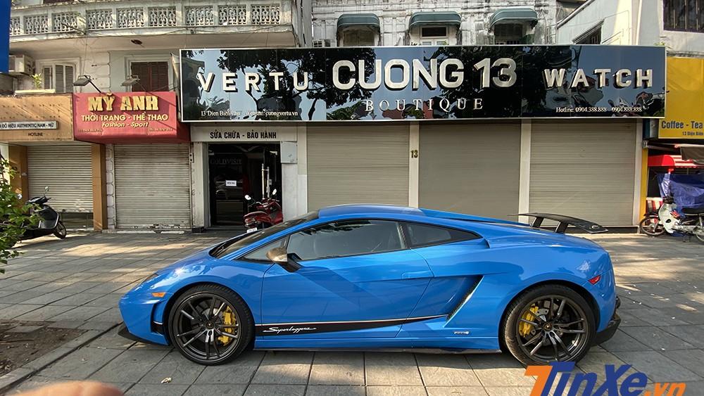 Lamborghini Gallardo Superleggera LP570-4 là chiếc xe độc nhất Việt Nam tính đến thời điểm hiện tại.