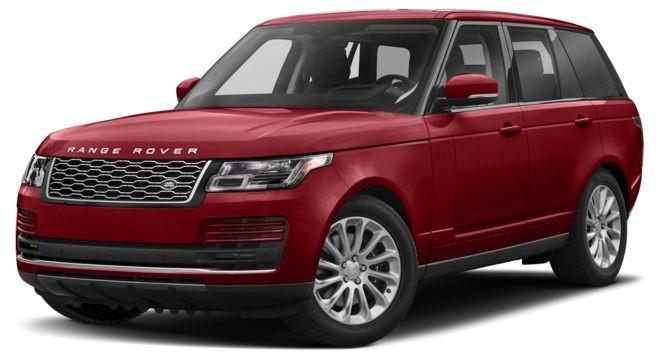Land Rover Range Rover màu đỏ