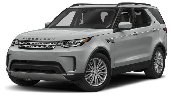 Land Rover Discovery màu bạc