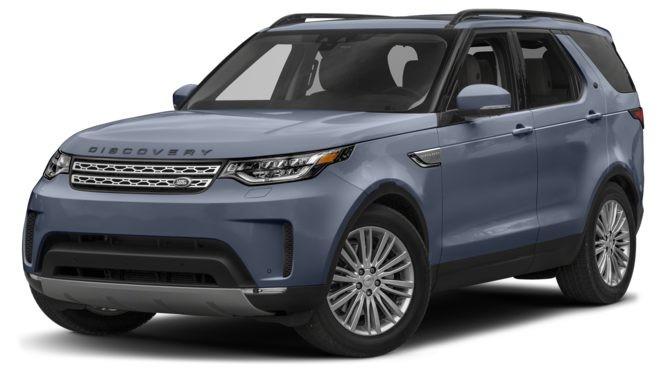 Land Rover Discovery màu xanh