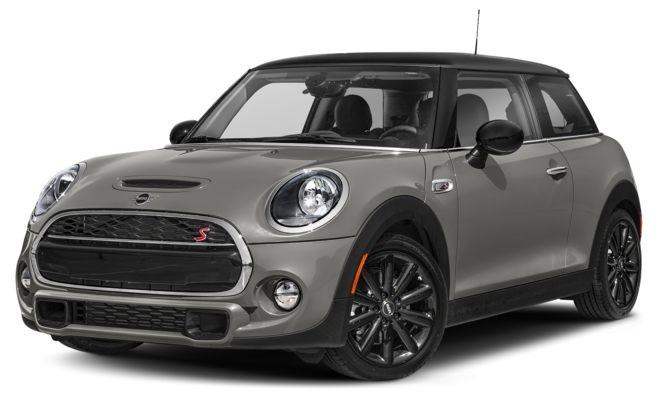 Mini Cooper màu xám