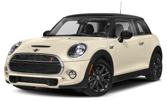 Mini Cooper màu trắng