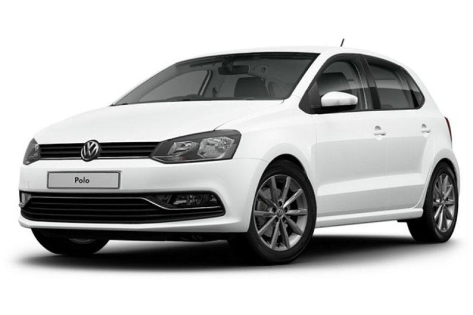 Volkswagen Polo màu trắng