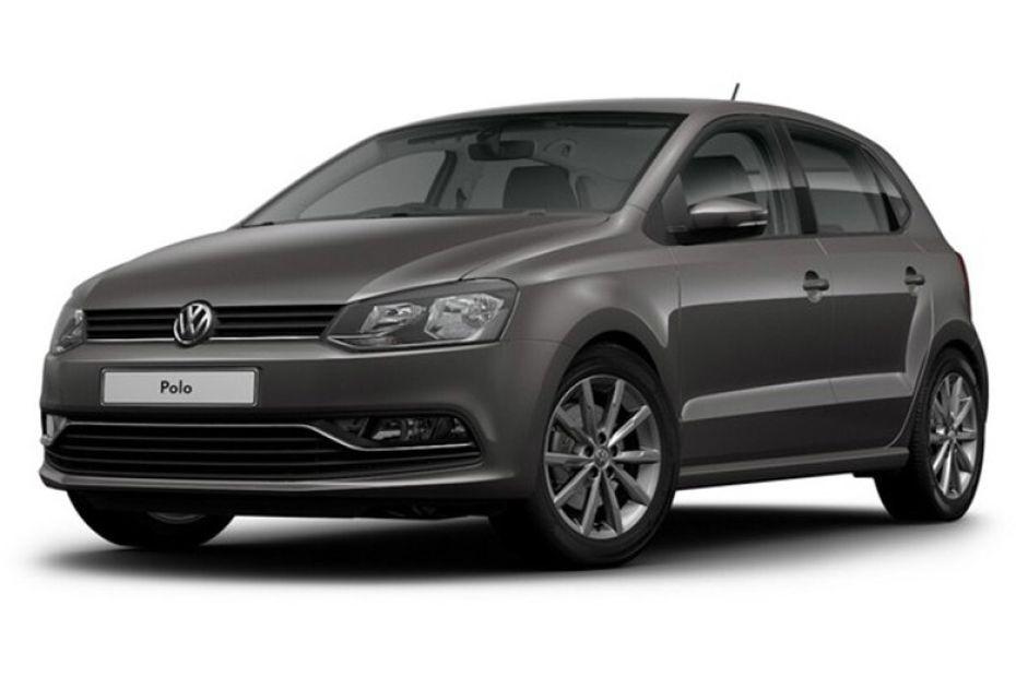 Volkswagen Polo màu xám