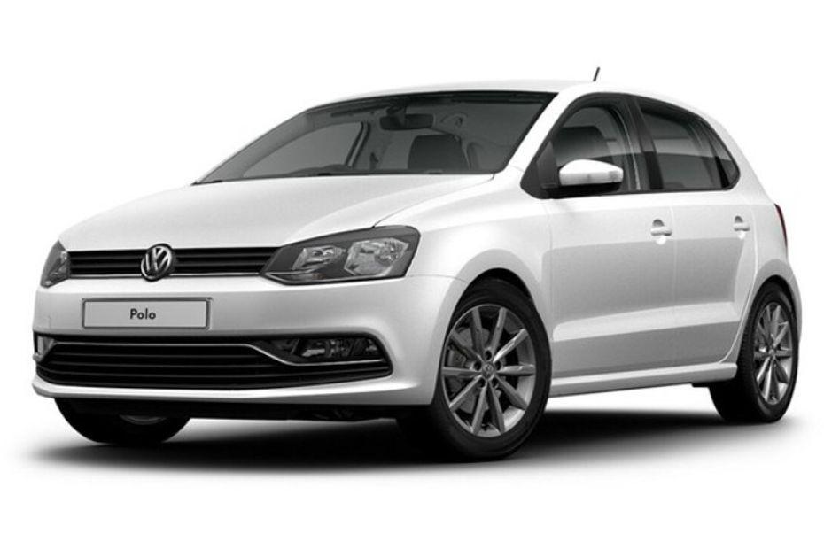 Volkswagen Polo màu bạc