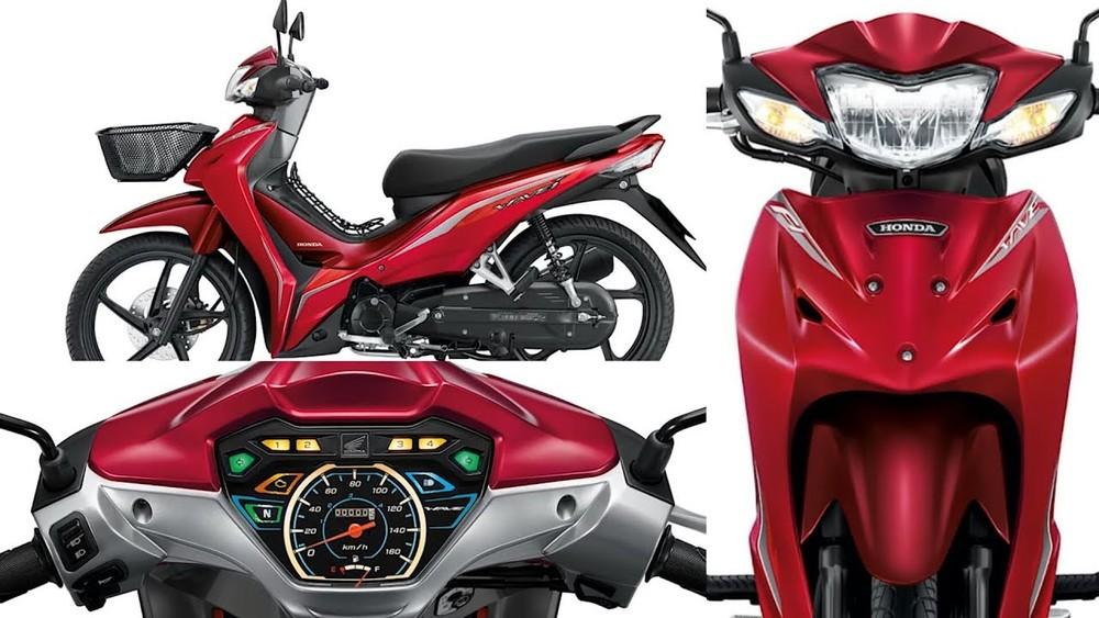 Honda Wave 110i 2020 vẫn sử dụng khối động cơ 110 phân khối với phun xăng điện tử PGM-FI