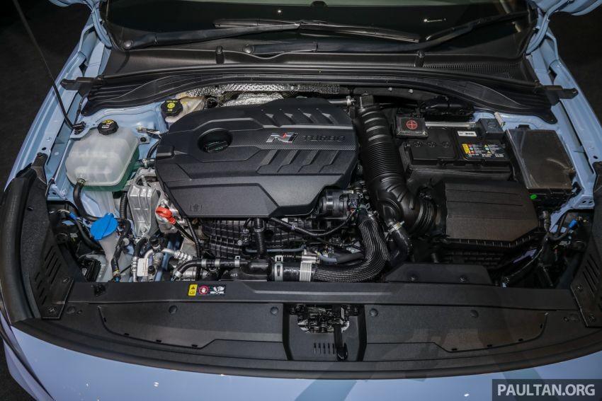 Hyundai i30 N được trang bị động cơ xăng tăng áp 2.0 lít