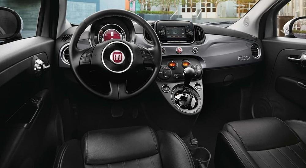 Thiết kế nội thất của Fiat 500 2019