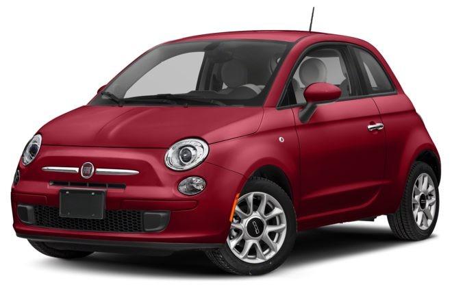 Fiat 500 màu đỏ