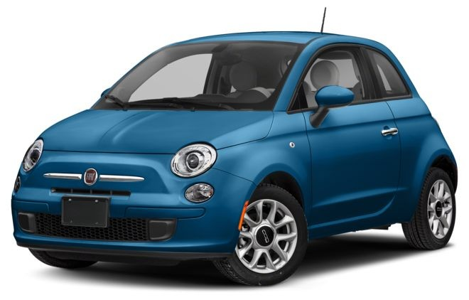 Fiat 500 màu lam