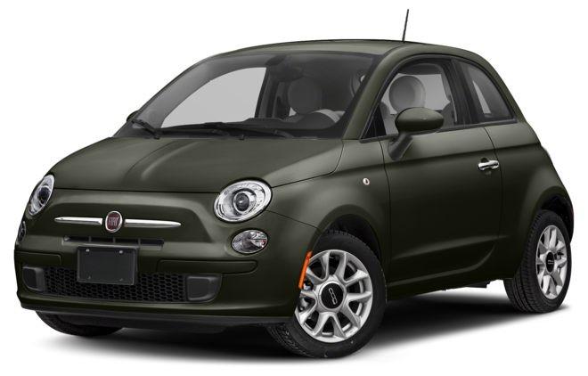 Fiat 500 màu lục