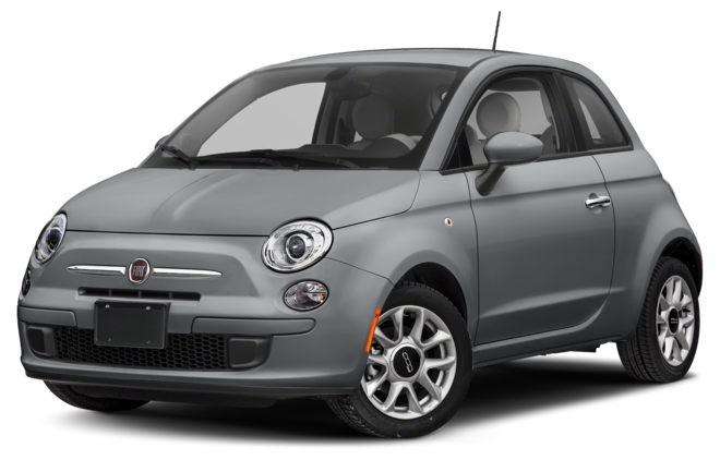 Fiat 500 màu bạc