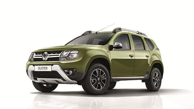 Renault Duster màu xanh