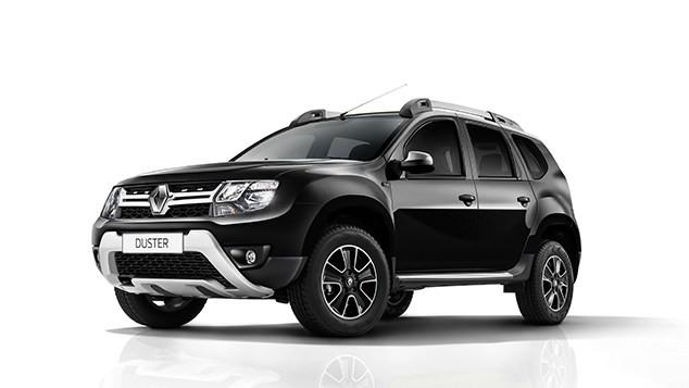 Renault Duster màu đen