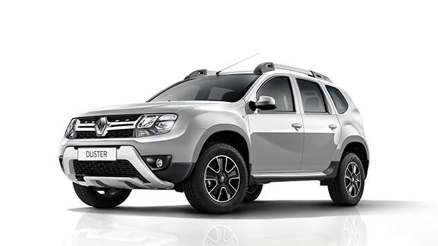 Renault Duster màu bạc