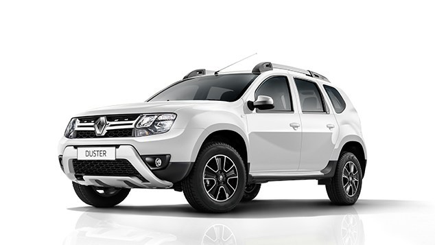 Renault Duster màu trắng