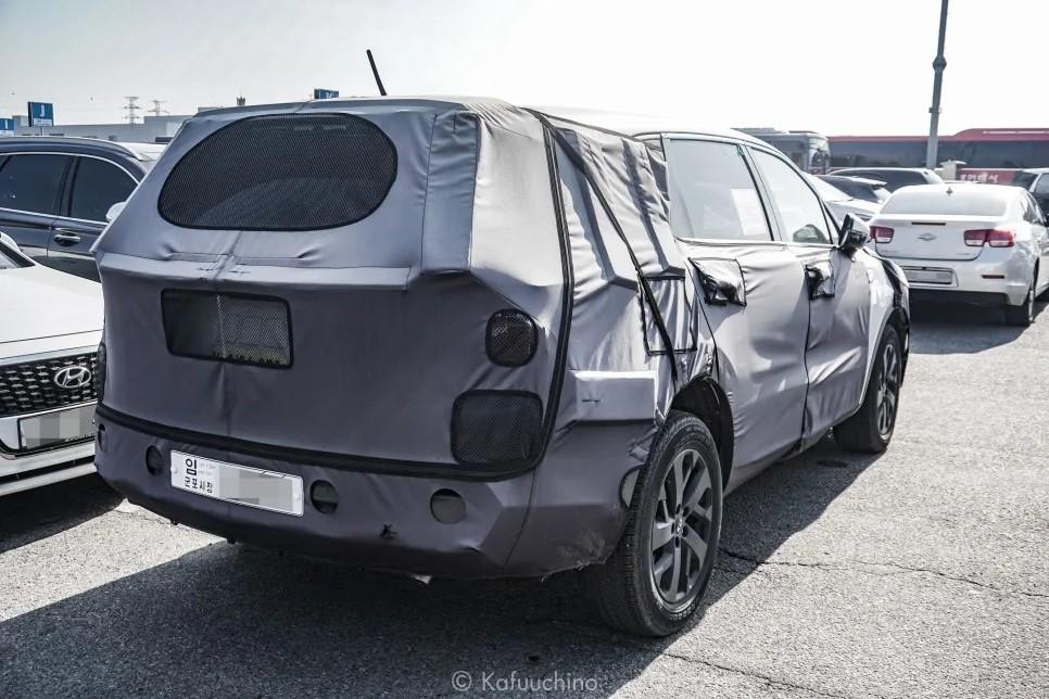 Kia Sorento 2020 trên đường thử