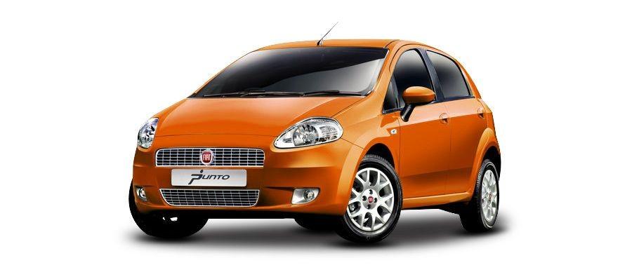Fiat Punto màu cam