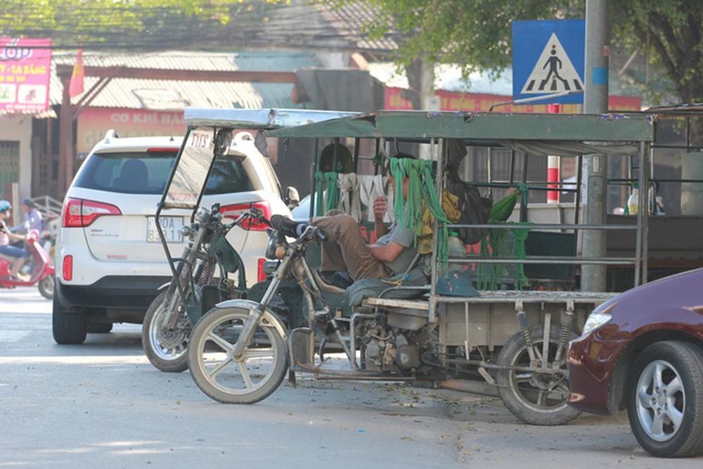 Xe ba gác, xe ba bánh chở hàng, chở người sẽ bị dừng hoạt động tại Hà Nội