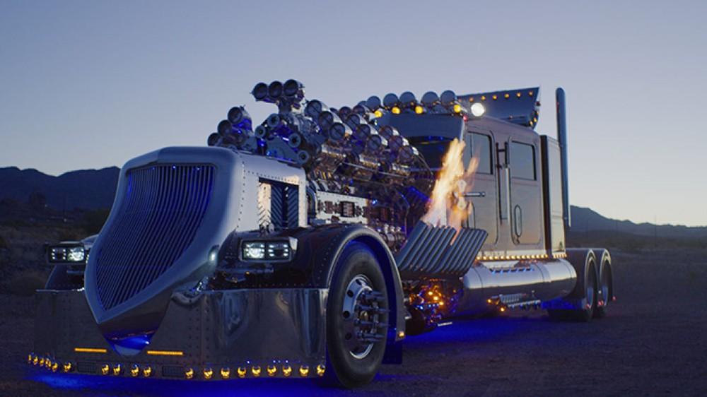 Thor24 được trang bị 2 động cơ diesel V12 cực mạnh