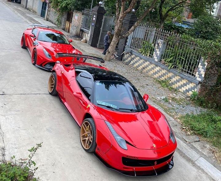 Vẻ đẹp của bộ đôi siêu xe độ độc nhất Việt Nam