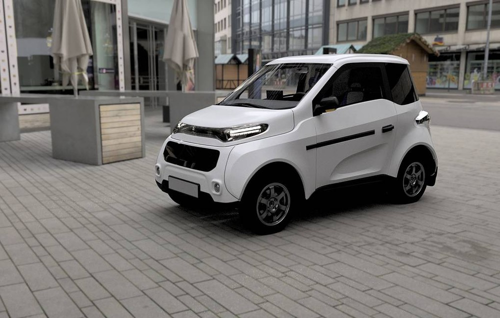 Zetta là một mẫu xe điện tí hon đến từ nước Nga
