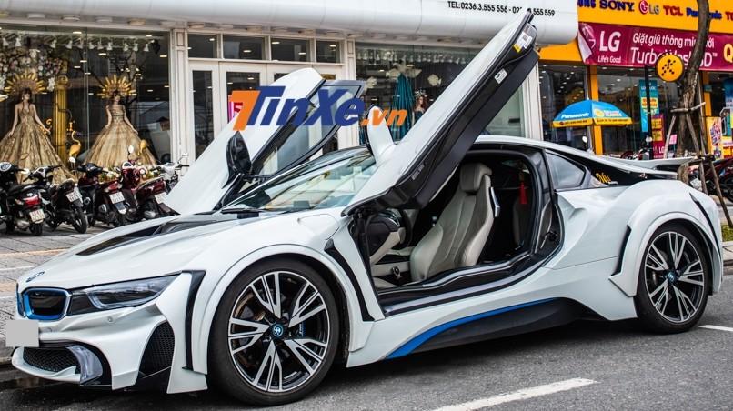 Chiếc BMW i8 này độ gói body kit của hãng Energy Motorsport đến từ Nhật Bản