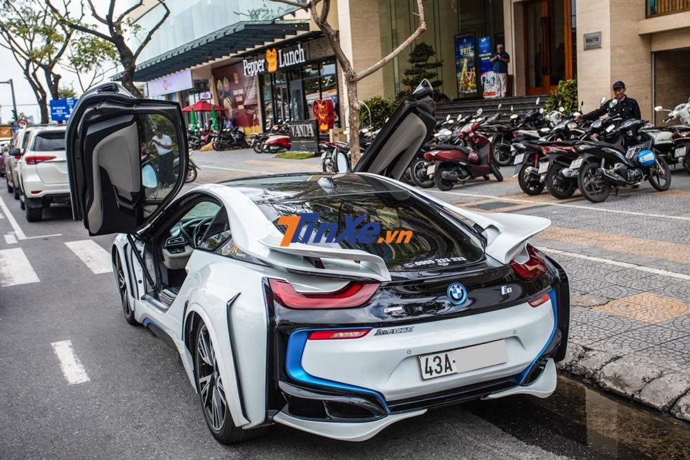 Vẻ đẹp của BMW i8 độ Energy Motorsport độc nhất Việt Nam