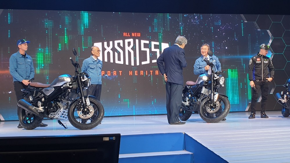 Yamaha XSR 155 ra mắt tại Indonesia