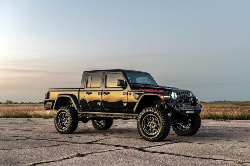 Dáng vẻ bên ngoài của Jeep Gladiator Maximus 1000