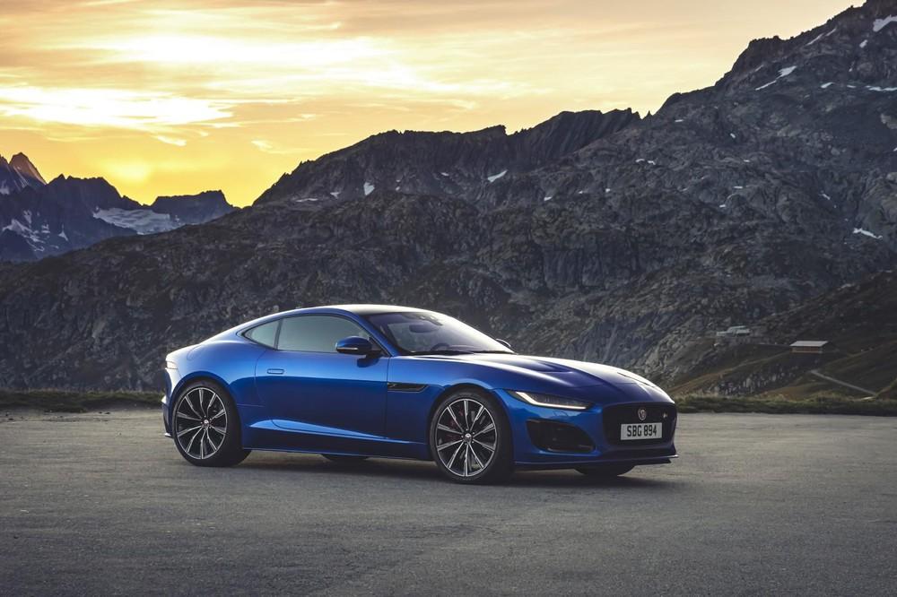 Jaguar F-Type 2020 đã chính thức được ra mắt.