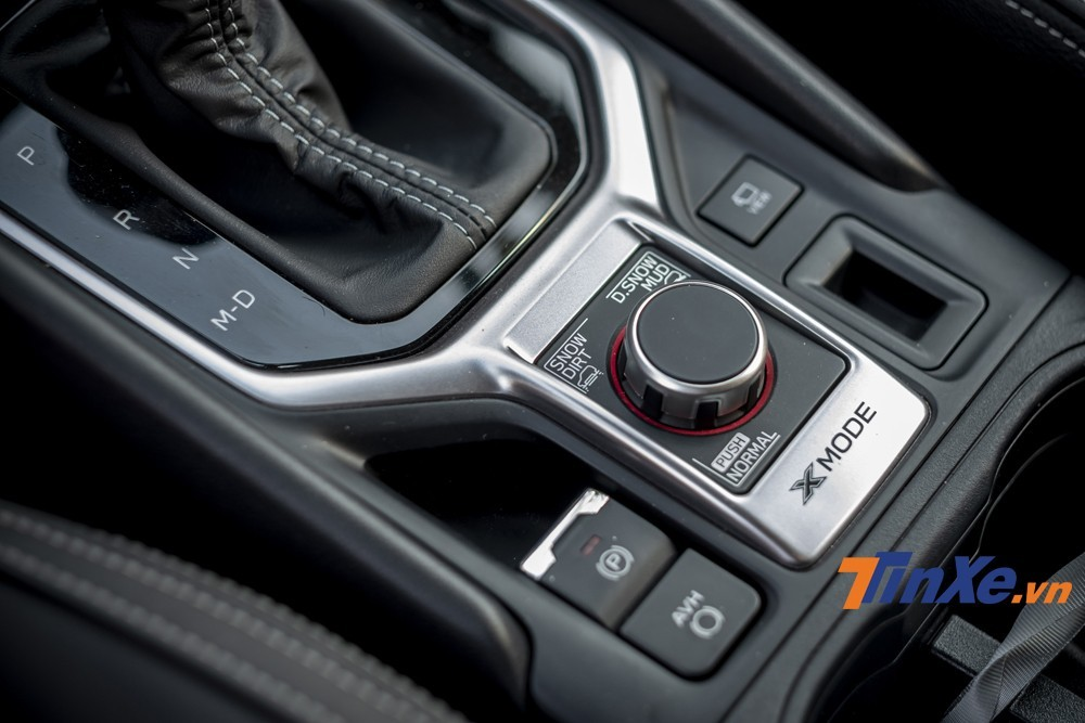Driving mode Sport, Intelligent with X-mode are the points that make a difference for Subaru Forester 2019