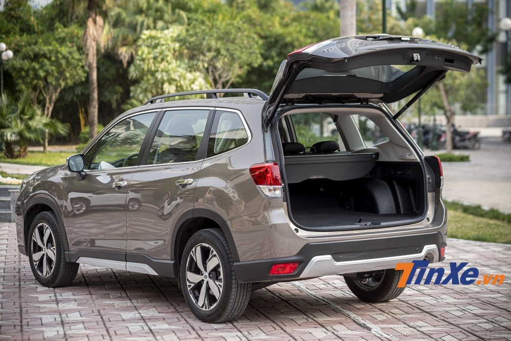 The rear-mounted electric control is the plus point of the 2019 Subaru Forester
