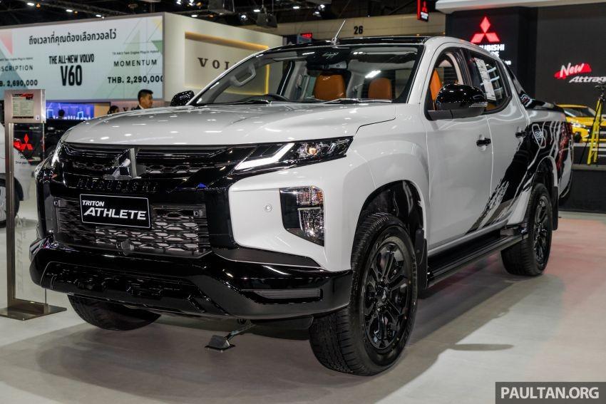 Mitsubishi Triton Athlete 2019 trong triển lãm Thailand International Motor Expo năm nay