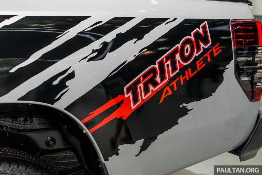 Đề-can riêng của Mitsubishi Triton Athlete 2019 bên sườn