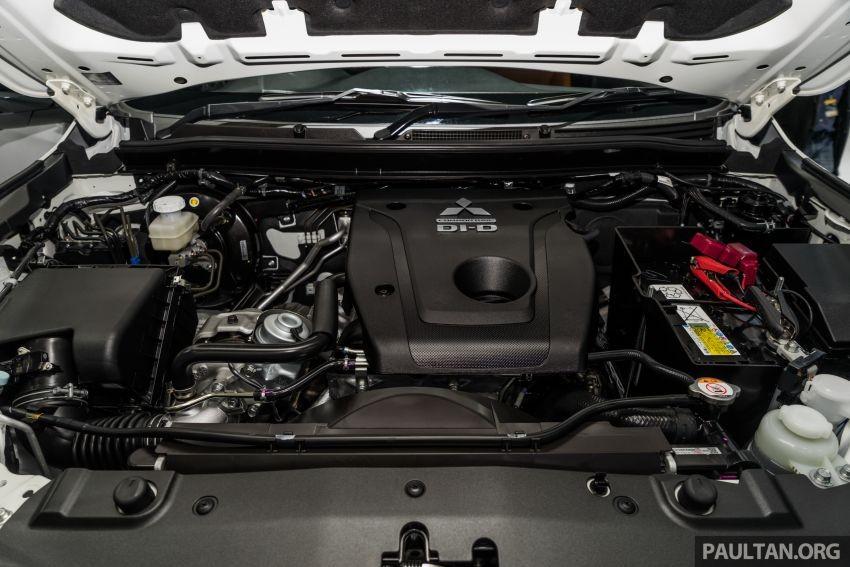 Động cơ của Mitsubishi Triton Athlete 2019 không có gì khác bản thường