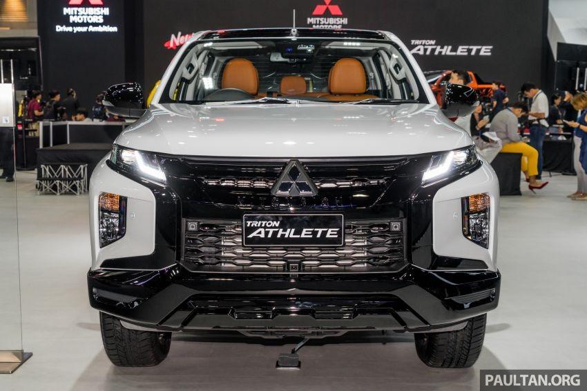 Mitsubishi Triton Athlete 2019 có 2 bản trang bị