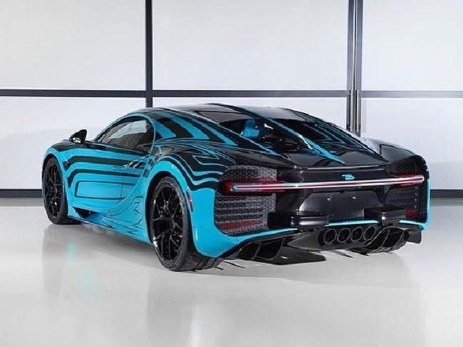 Chiếc Bugatti Chiron có một không hai này sẽ thuộc về tay một đại gia Mỹ