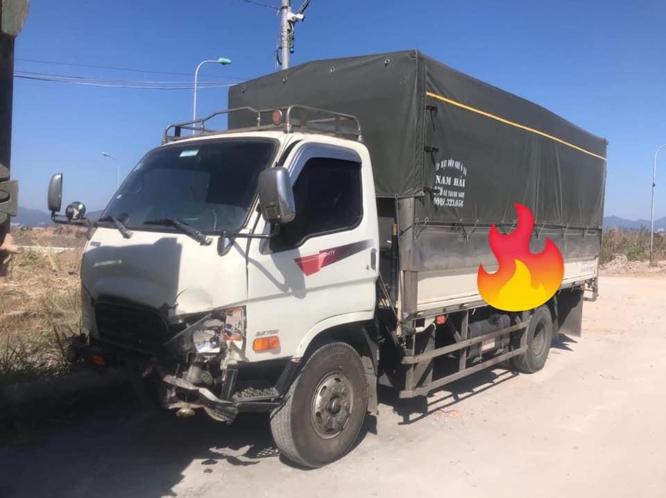 Thiệt hại của xe tải