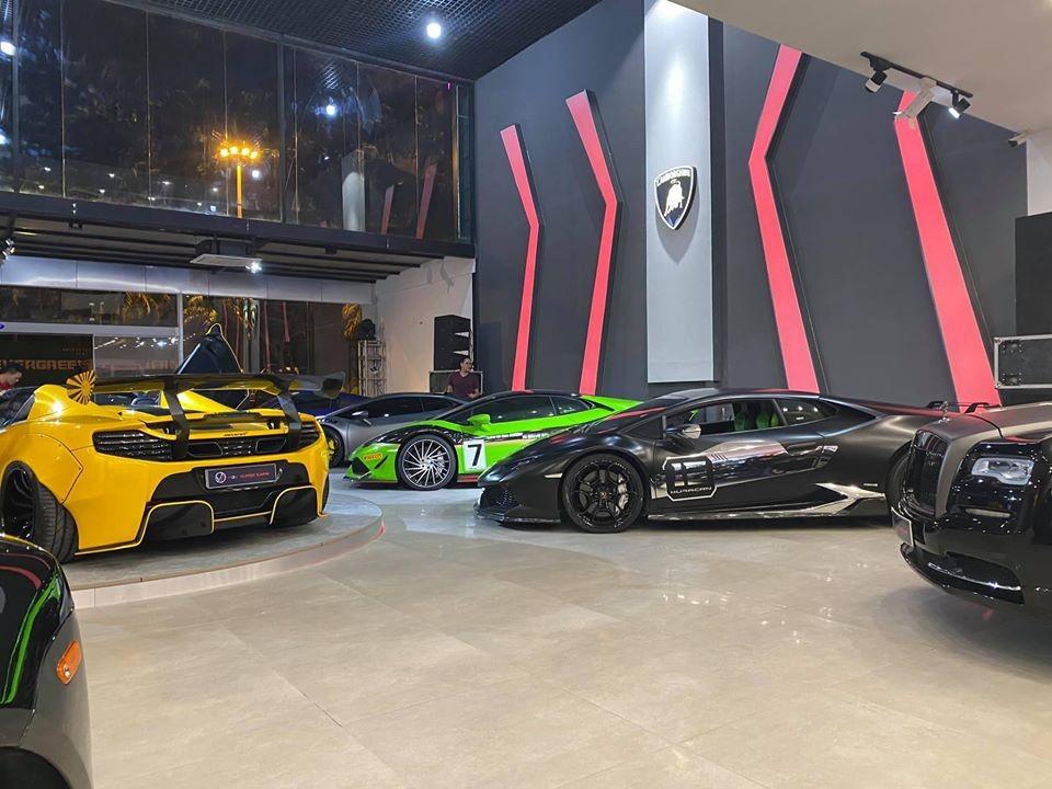 Không phải Dubai hay London, garage toàn siêu xe này sắp khai trương ở Tp.HCM