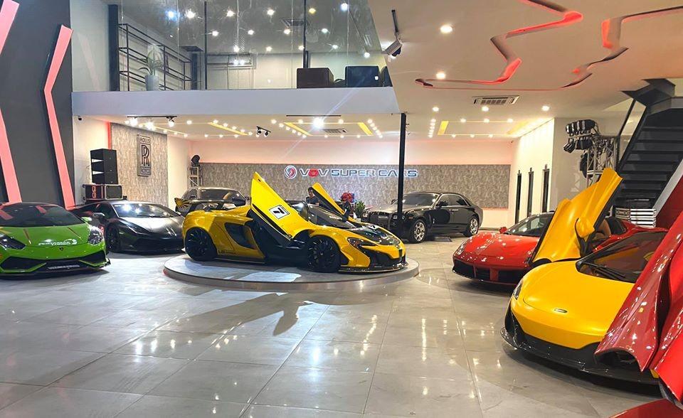 Showroom siêu xe đã qua sử dụng sắp được khai trương tại Tp.HCM