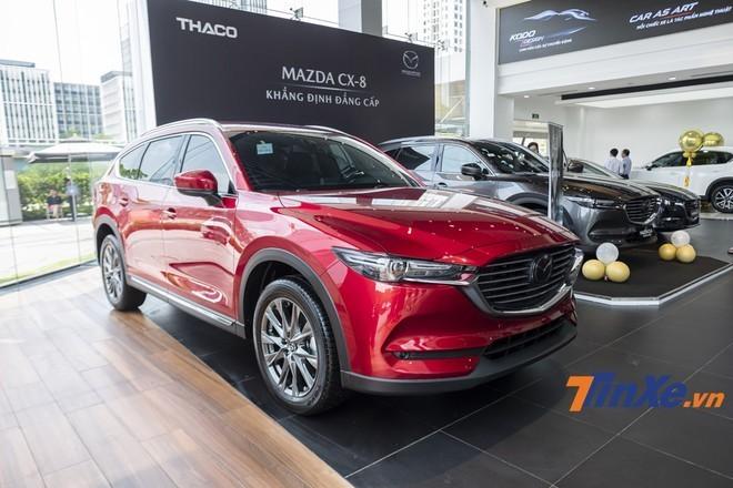 Phiên bản 2.5 Deluxe của Mazda CX-8 đã có xe để giao tới tay khách hàng Việt